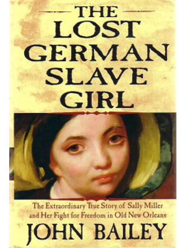 Cover of Lost German Slave Girl